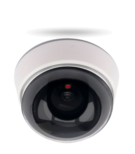 DC 300 Deckenkamera Attrappe, blinkende LED batteriebetrieben, für Innenbereiche