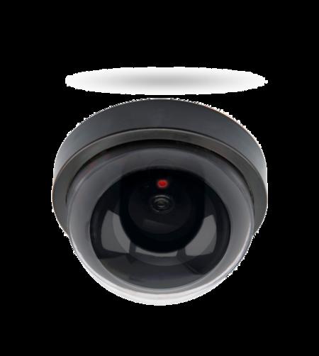 DC 200 Deckenkamera Attrappe, blinkende LED batteriebetrieben, für Innenbereiche