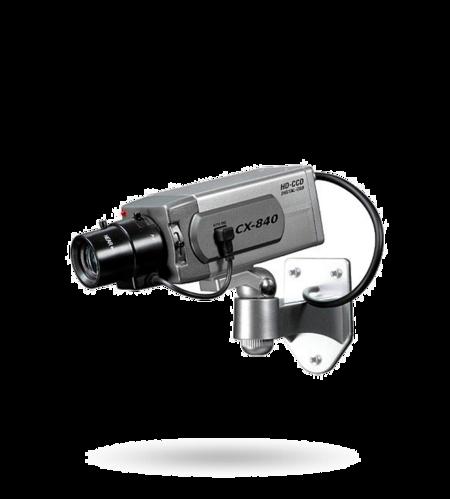 KA07 Kamera Attrappe, blinkende LED batteriebetrieben, für Innenbereiche