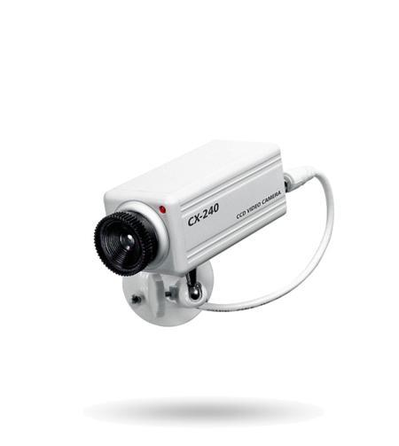 KA04 Kamera Attrappe, blinkende LED batteriebetrieben, für Innenbereiche
