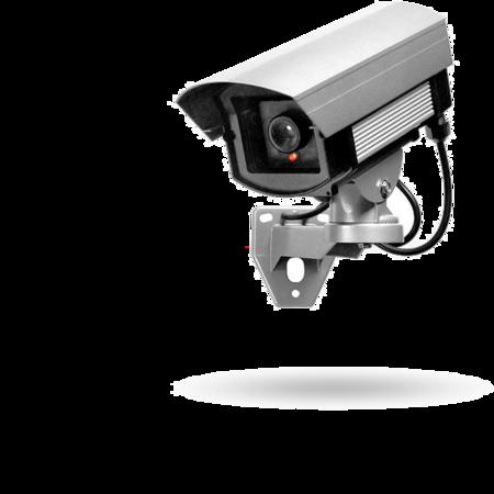 KA05 Kamera Attrappe, blinkende LED batteriebetrieben, für Außenbereiche, mit Schutzgehäuse