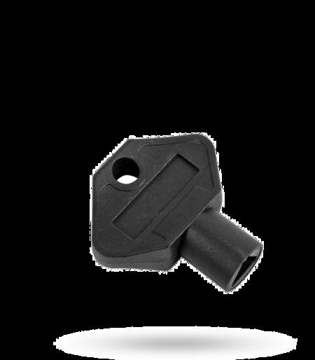 Betätigungsschlüssel Dreikant 8 mm Polyamid PA 6 schwarz