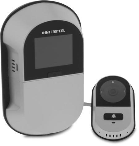 Digitaler Türspion Wi-Fi, 2,0 Zoll TFT Bildschirm