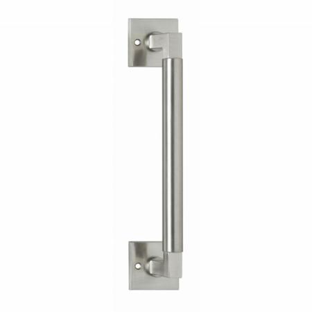 Stossgriff Bau-Stil 307 mm, Nickel matt