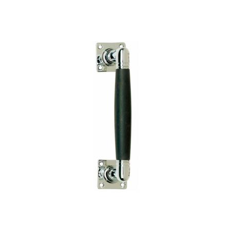 Türgriff Ton 180 mm, Nickel / Ebenholz
