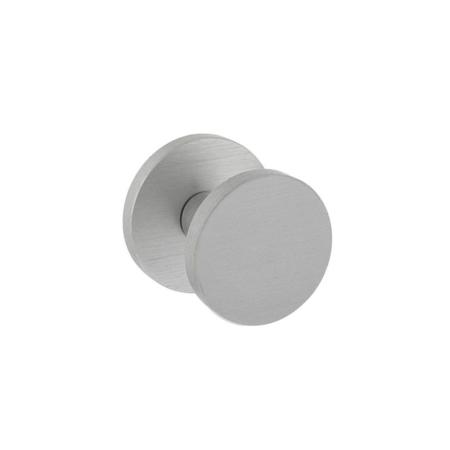 Haustürknauf rund Ø55 mm, einseitige Montage, Aluminium