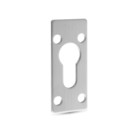 Unterlegplatte Edelstahl 2 mm