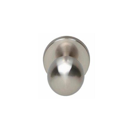 Haustürknauf kugelförmig, Nickel matt