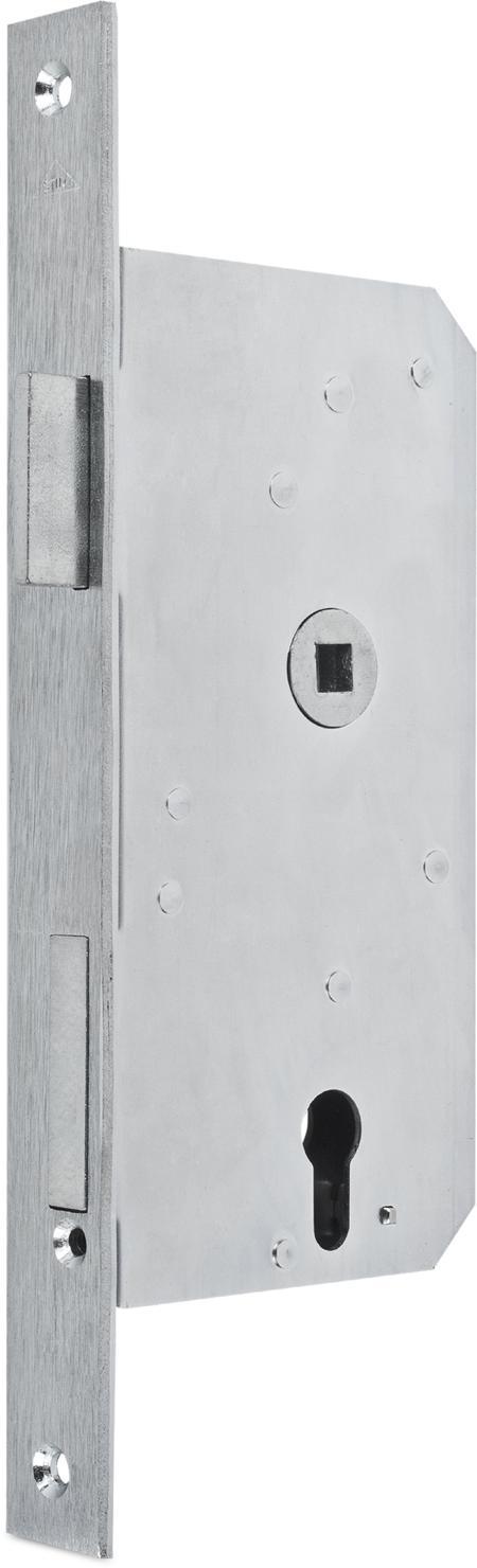 Einsteckschloss 65 Dorn PZW verzinkt DIN rechts