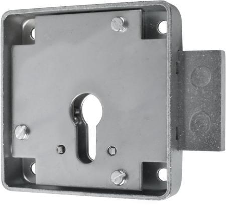 Kastenriegelschloss PZ, Dornmaß 45 mm, einfacher Abzug, links